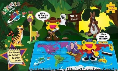 Imagimake ANIMALS on the Map