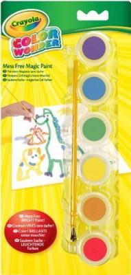 Crayola Color Wonder Gel Paint Palette Refills-Classic