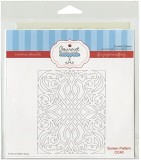 Gourmet Rubber Stamps Screen Pattern Ste...