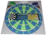 Dart Game 15 Wall Mounted Dart Board, Du...