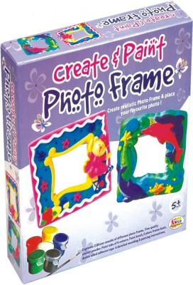 Ekta Toys Create & Paint Photo Frame Fun Game