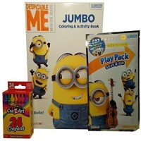 Bendon Despicable Me Bello Minions Jumbo Coloring Crayons Play Pack Stickers Activity Set