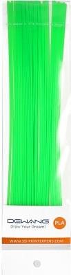 Dewang 3D printer pen filament - 10 meter. COLOUR : FLORESCENT GREEN