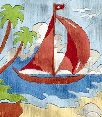 Anchor Stitch Kits - Boat
