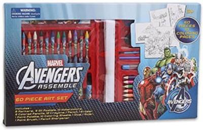 Marvel Avengers Assemble 60 Piece Art Set