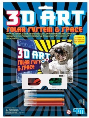 4M 3D Art Solar System and Space Kits