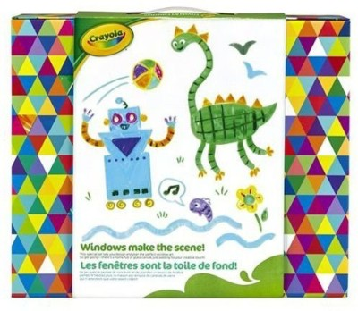 Crayola Window Art Designer Craft Kit by Crayola