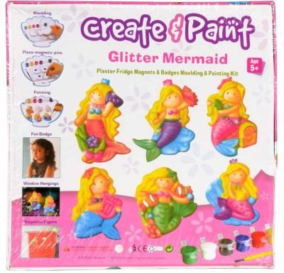 ekta create & paint glitter mermaid