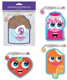 B-KIDS 4 Scented Notebooks with Colored ...