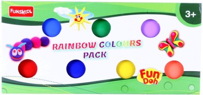 Funskool Fundoh rainbow colours