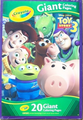 Crayola Crayola Toy Story 3 Giant Coloring Pages