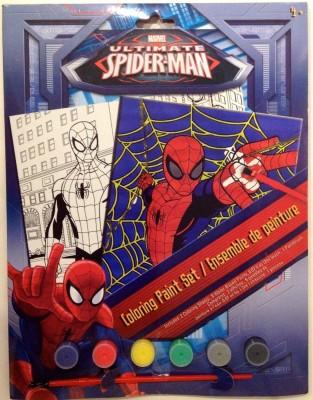 Disney Marvel Ultimate Spiderman Coloring Paint