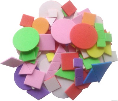 Atanands Foam Stickers Assorted Shapes and Colors
