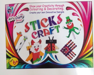 Ankit Toys Sticks Craft