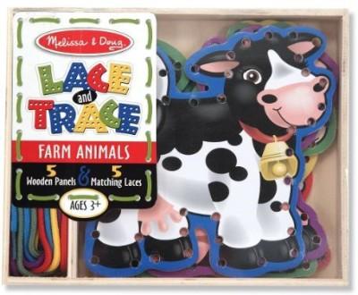 Melissa & Doug Lace and Trace Farm