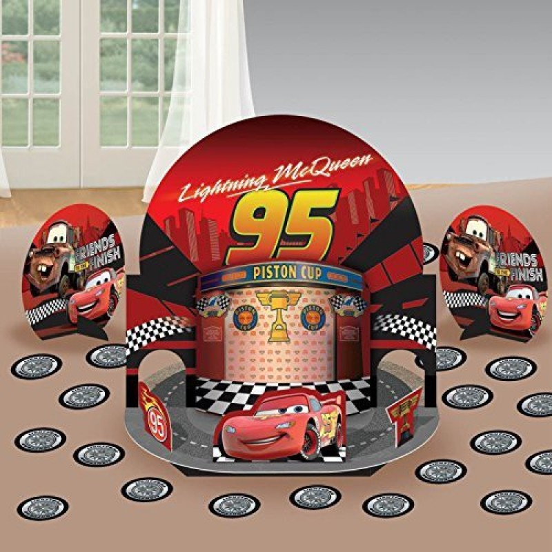 Amscan Dashing Cars Table Decorating Kit