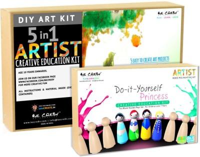 Be Cre8v Little Artist Creative DIY Combo Pack