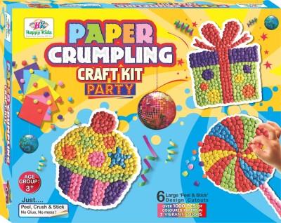 Happy Kidz Paper Crumpling Craft toys-Party