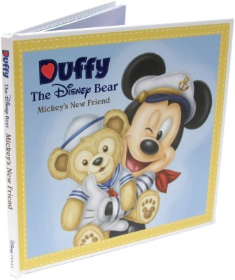 Disney Duffy The Disney Bear Mickey's New Friend Book Beautiful Color Pictures