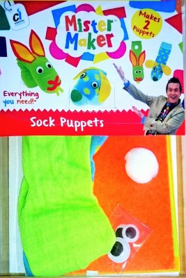 Mister Maker Sock Puppet