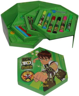 Creative Kids 46 Piece BEN 10 Art Kit