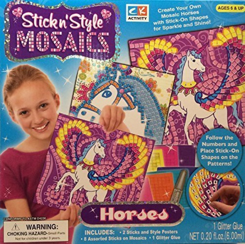 CK Crafts CK Stick n' Style Mosaics