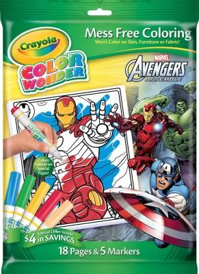 Crayola Crayola Avengers Color Wonder Overwrap Markers