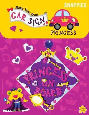 Imagimake Car Sign - Princess