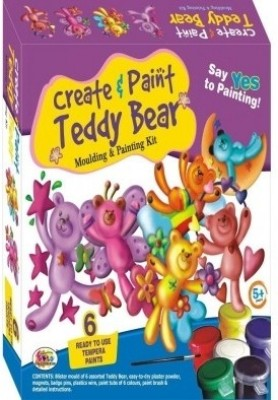 Ekta Toys Ekta Create & Paint Teddy Bear
