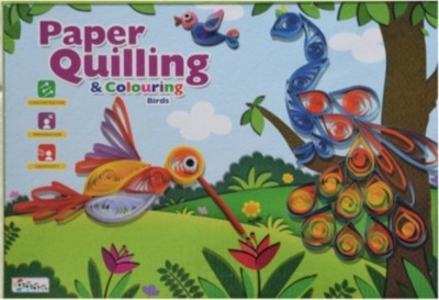 Speedag Corporation Paper Quilling And Colouring Birds