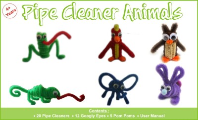 Atanands Pipe Cleaner Animals
