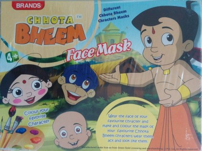 Brands Chhota Bheem Create and Paint your Mask