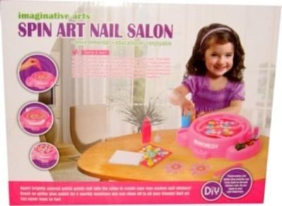 Dinoimpex Spin Art Nail Salon