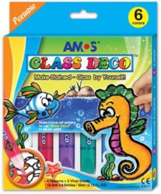 Neo Gold Leaf Amos Glass Deco 06