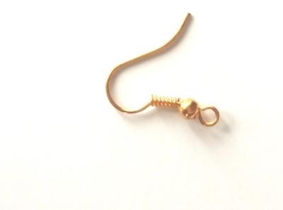 Udhayam Gold Finish Earing Hooks