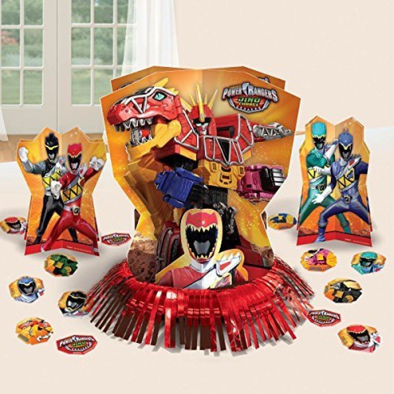 Amscan Power Rangers Dino Charge Table Decorating Kit