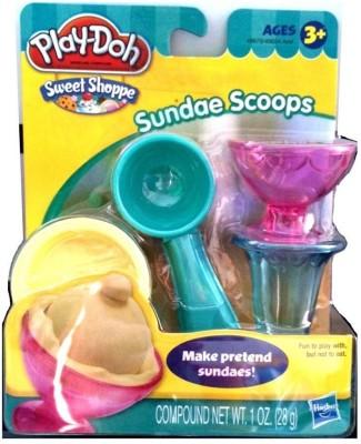 Hasbro Play-Doh Sweet Shoppe Sundae Scoops Set