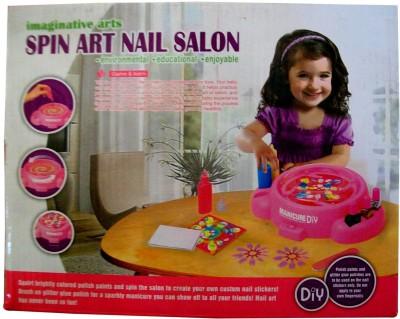 Treasure Box Imaginative Spin Art Nail Salon