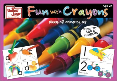 United Toys Fun with Crayons - Colour My ABC & Numbers