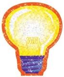 Eureka Sparkle Paper Cut-Outs 36 Light B...