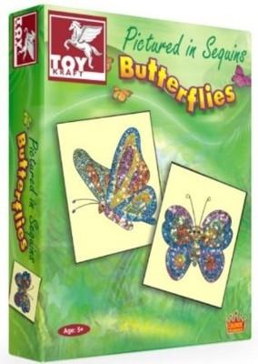 Toy Kraft Pictured in Sequins Butter Flies