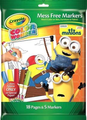 Crayola Crayola Color Wonder OW Markers - Minions