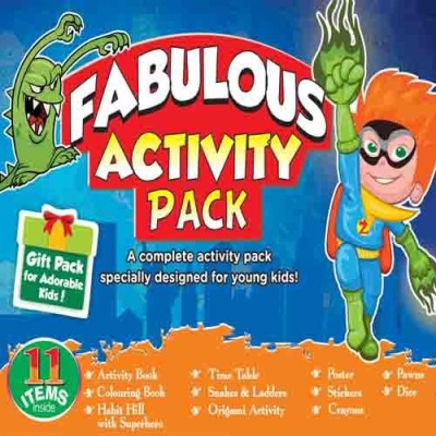 BPI Fabulous Activity Pack
