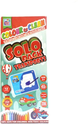 Ankit Toys Colour & Clean Solo Pack Transports