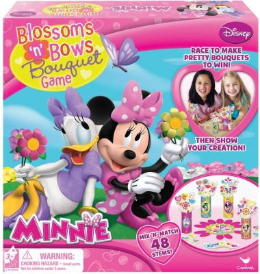 Disney Minnie Mouse Blossoms and Bows Bouquet Game