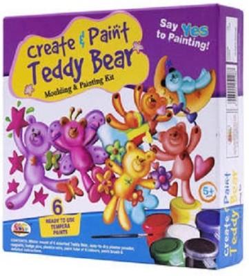 Ekta Toys Create & paint Teddy Bear