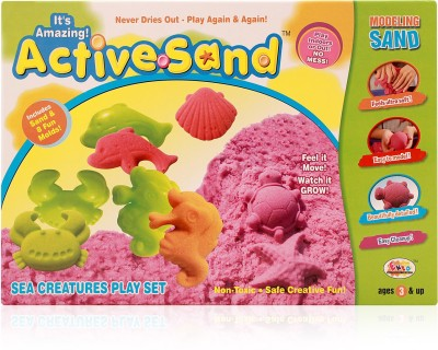 Ekta Toys Active Sand Sea Creatures