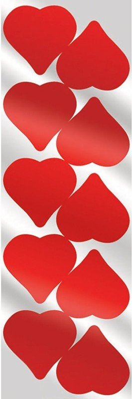 Amscan Valentine Foil Heart Stickers Party Accessory