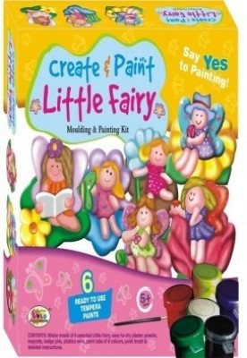 Ekta Toys Ekta Create & Paint Little Fairy