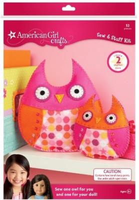 American Girl Crafts Owls Sew and Stuff Kit